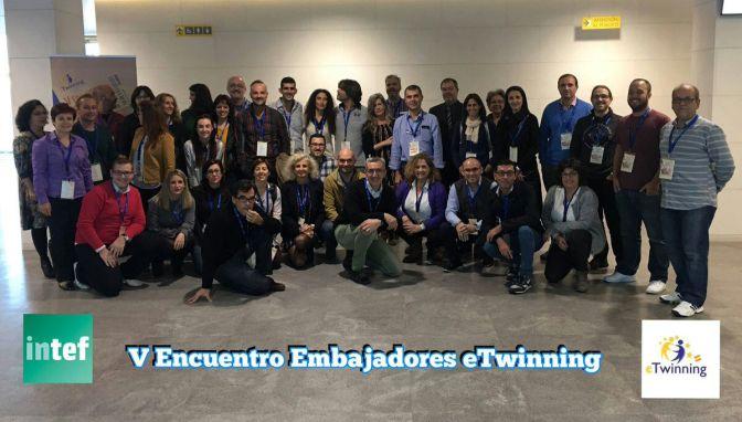 V Encuentro de Embajadores eTwinning
